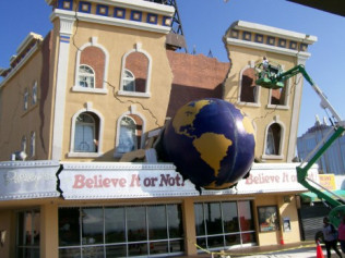 Ripley's Believe it or Not Atlantic City , NJ-Exterior pressure washing and repainting